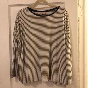 Ann Taylor Loft Striped Shirt